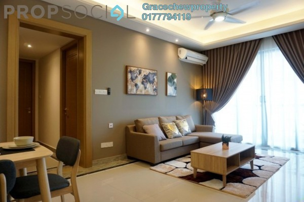 Serviced Residence For Rent in R&F Princess Cove, Johor Bahru Freehold Fully Furnished 3R/3B 3.5k
