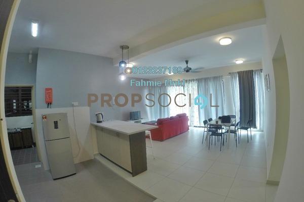 Condominium For Rent in Serin Residency, Cyberjaya Freehold fully_furnished 3R/2B 2.1k