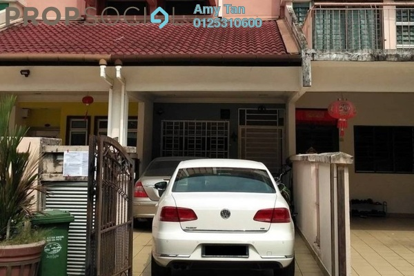 Townhouse For Sale in Taman Wahyu, Jalan Ipoh Freehold Semi Furnished 3R/2B 492k