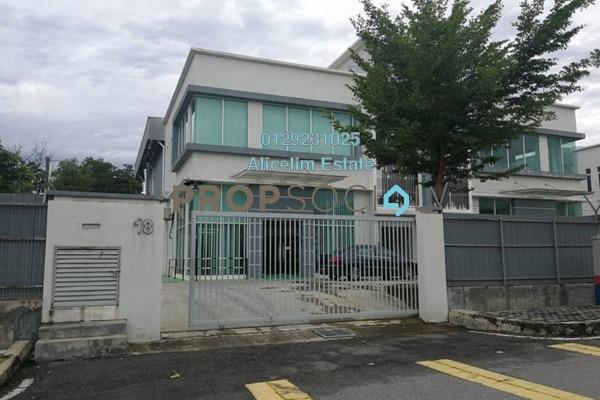 Factory For Rent in Taman Bukit Rawang Jaya, Rawang Freehold Unfurnished 0R/4B 7.5k