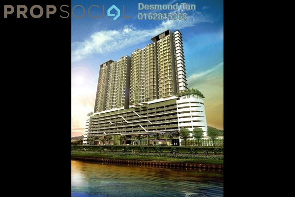 Condominium For Sale in Saville @ D'Lake, Puchong Freehold Unfurnished 0R/1B 374k