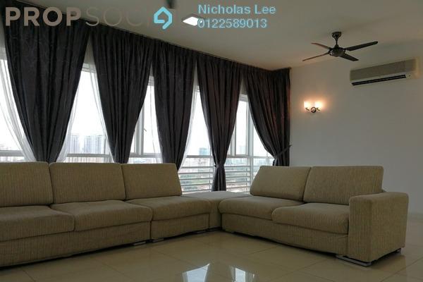 Serviced Residence For Rent in Surian Residences, Mutiara Damansara Freehold Semi Furnished 4R/4B 4.5k