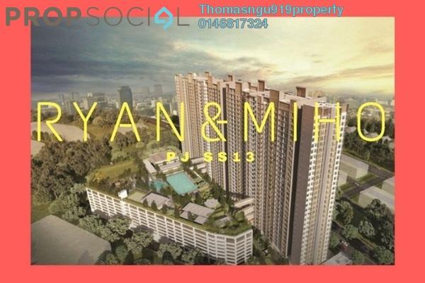 Condominium For Sale in Ryan & Miho, Petaling Jaya Freehold Semi Furnished 2R/2B 458k