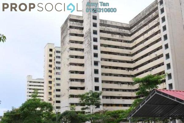Apartment For Sale in Pelangi Magna, Kepong Freehold Semi Furnished 3R/1B 175k
