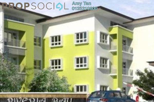 Apartment For Sale in Riveria Bay Apartments, Kota Samarahan Freehold Semi Furnished 3R/1B 400k