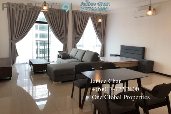 Serviced Residence For Rent in Molek Regency, Johor Bahru Freehold Semi Furnished 0R/1B 1.8k