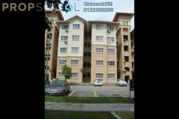 Apartment For Rent in Sri Ara Apartment, Ara Damansara Freehold Semi Furnished 1R/1B 500translationmissing:en.pricing.unit