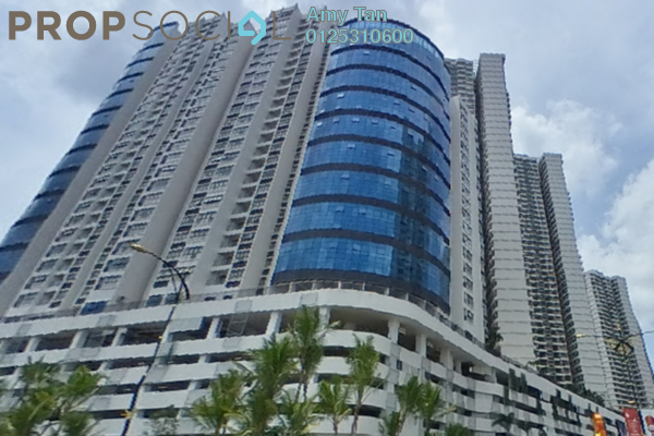 Apartment For Sale in Country Garden Danga Bay, Danga Bay Freehold Semi Furnished 3R/1B 520k