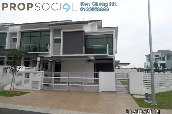 Superlink For Sale in Aster Grove 2, Denai Alam Freehold Unfurnished 5R/5B 1.35m