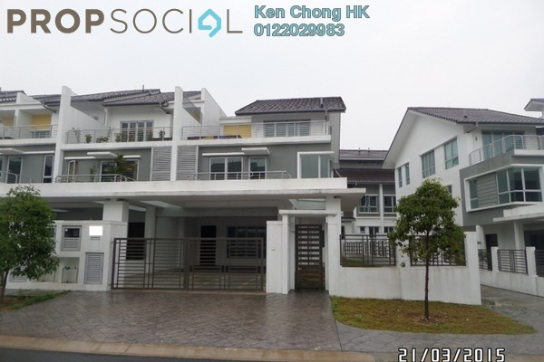 Superlink For Sale in Serissa Terrace, Denai Alam Freehold Unfurnished 5R/5B 1.85m