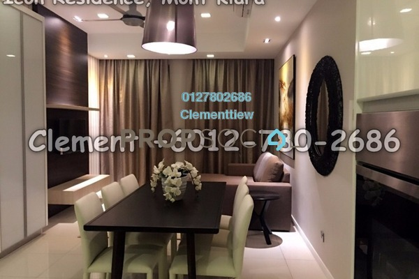 Condominium For Rent in Icon Residence (Mont Kiara), Dutamas Freehold Fully Furnished 2R/2B 4k