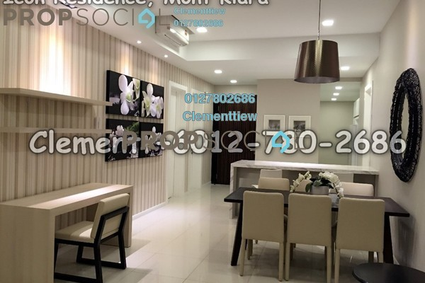 Condominium For Rent in Icon Residence (Mont Kiara), Dutamas Freehold Fully Furnished 2R/2B 4.5k