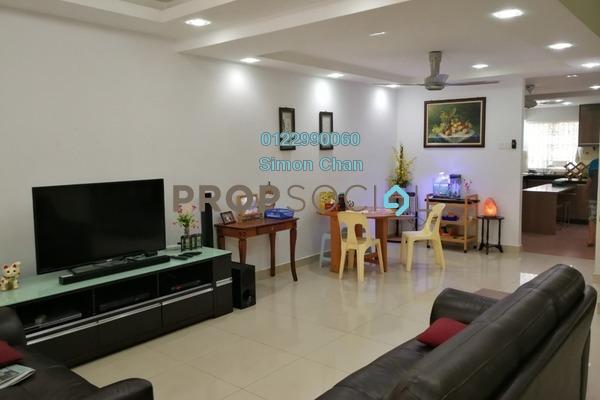 Terrace For Sale in PU1, Bandar Puchong Utama Freehold Semi Furnished 4R/3B 880k