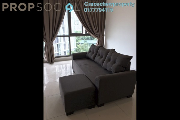 Condominium For Rent in Iskandar Residences, Medini Freehold Fully Furnished 3R/3B 2.8k