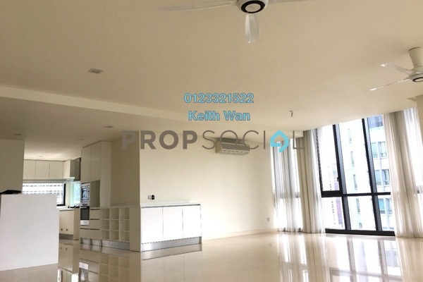 Condominium For Sale in 6 CapSquare, Dang Wangi Freehold Semi Furnished 4R/5B 2.6m