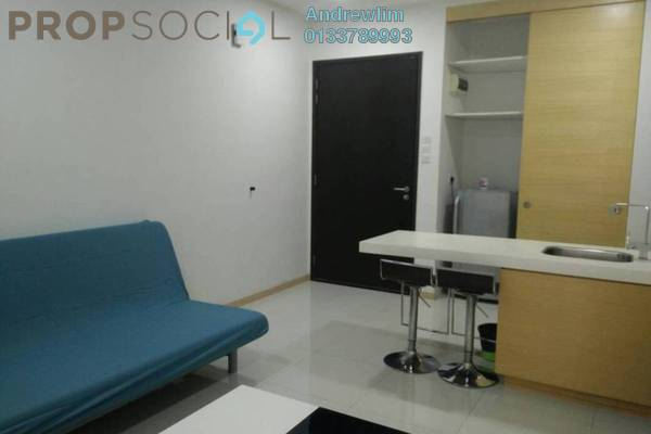 Condominium For Sale in Pertama Residency, Cheras Freehold Fully Furnished 0R/1B 360k