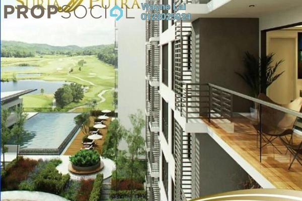 Condominium For Rent in Suria Putra, Bukit Rahman Putra Freehold Semi Furnished 2R/2B 1.5k
