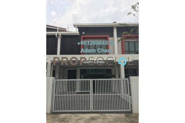 Terrace For Sale in Nobat, Bandar Bukit Raja  Semi Furnished 4R/3B 700k