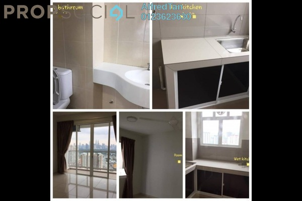 Condominium For Rent in MH Platinum Residency, Setapak Freehold Semi Furnished 3R/2B 1.9k