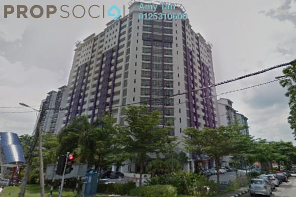 Serviced Residence For Sale in SuriaMas Suites, Johor Bahru Freehold Semi Furnished 3R/1B 263k