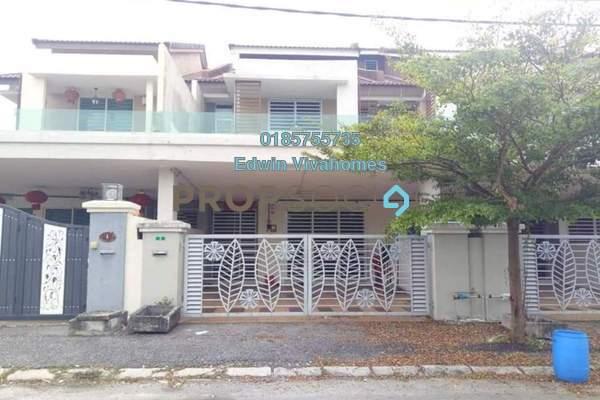 Link For Sale in Taman Pengkalan Barat, Ipoh Leasehold Semi Furnished 4R/4B 355k