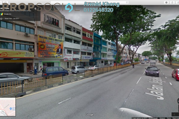 Shop For Rent in Taman Maluri, Cheras Freehold Unfurnished 0R/0B 2.1k
