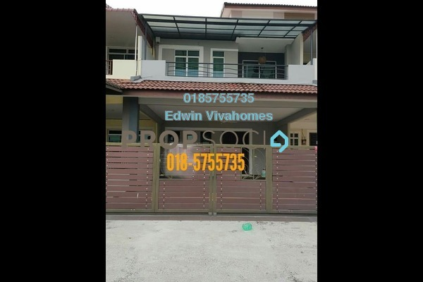 Superlink For Sale in Bandar Cyber, Ipoh Leasehold Semi Furnished 4R/4B 560k