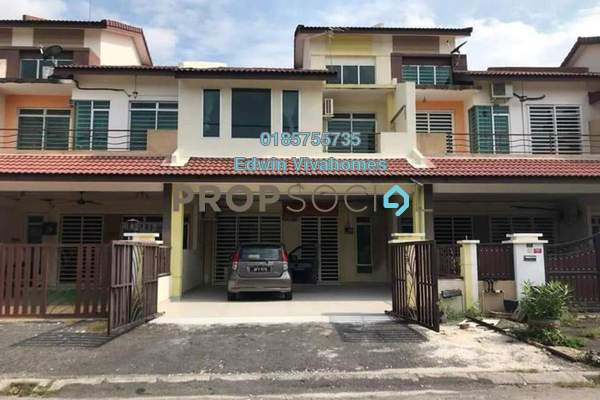 Link For Sale in Bandar Cyber, Ipoh Leasehold Semi Furnished 4R/4B 400k