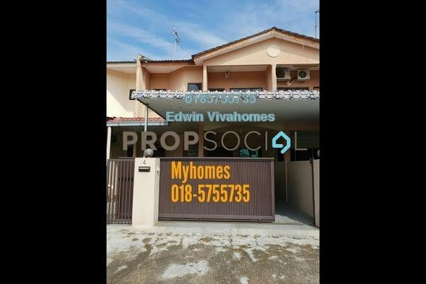 Link For Sale in Taman Pasir Putih Selatan, Ipoh Leasehold Semi Furnished 4R/3B 360k