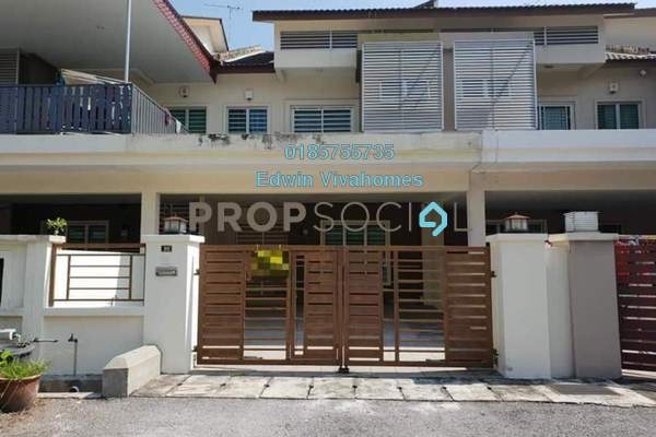 Terrace For Rent in Sunway City Ipoh, Tambun Freehold Semi Furnished 4R/3B 1k