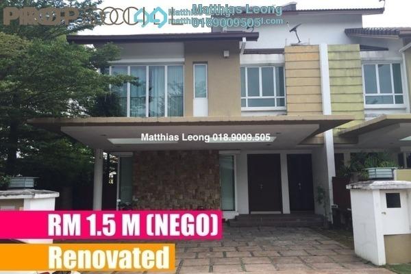 Semi-Detached For Sale in Bayu Villas, Bukit Rimau Freehold Semi Furnished 4R/5B 1.5m