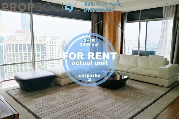 Condominium For Rent in Pavilion Residences, Bukit Bintang Freehold Fully Furnished 3R/5B 13k