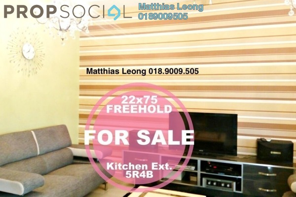 Terrace For Sale in Putra Avenue, Putra Heights Freehold Semi Furnished 5R/4B 880k