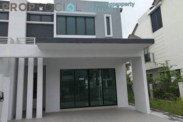 Terrace For Sale in Lakeside Residences, Puchong Freehold Unfurnished 5R/4B 980k