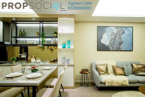 Condominium For Sale in Platinum Splendor Residence, Kuala Lumpur Freehold Semi Furnished 4R/2B 470k