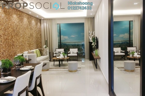 Condominium For Sale in Lemanja, Kepong Freehold Semi Furnished 3R/2B 551k
