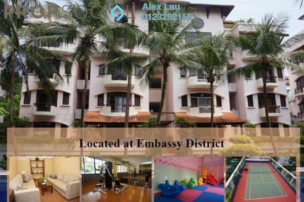 For Rent Condominium at Kondominium 8, Ampang Hilir Freehold Fully Furnished 2R/3B 4.3k