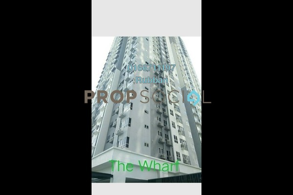Condominium For Sale in The Wharf, Puchong Freehold Unfurnished 3R/2B 495k
