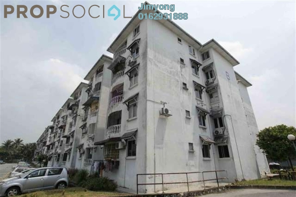 Apartment For Sale in Pandan Lake View, Pandan Perdana Freehold Unfurnished 3R/2B 300k