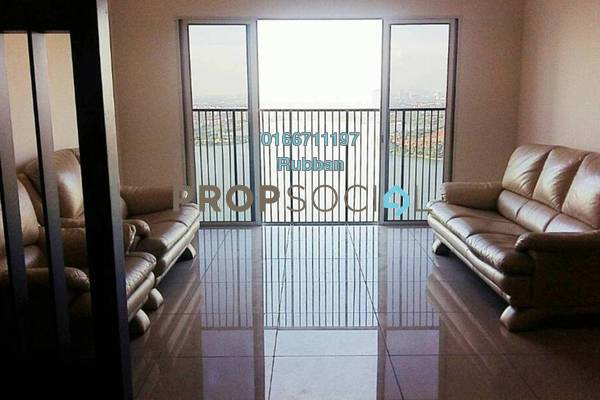 Condominium For Rent in The Wharf, Puchong Freehold Fully Furnished 3R/2B 1.45k