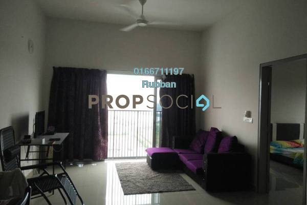 Condominium For Sale in The Wharf, Puchong Freehold Unfurnished 2R/2B 350k