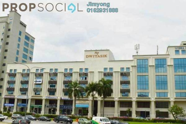 Office For Sale in Plaza Dwitasik, Bandar Sri Permaisuri Freehold Fully Furnished 1R/1B 1.7m