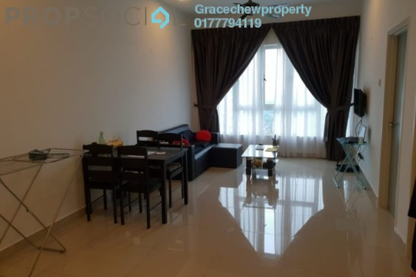 Serviced Residence For Rent in Tropez Residences, Danga Bay Freehold Fully Furnished 1R/1B 1.68k