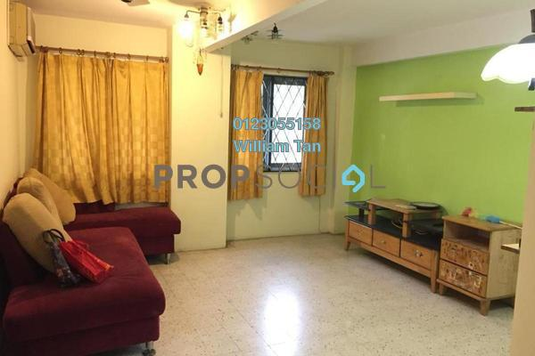 Apartment For Rent in Dahlia Apartment, Pandan Indah Freehold Fully Furnished 3R/2B 1.2k