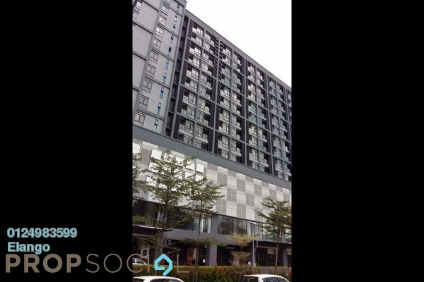 Condominium For Sale in Paramount Utropolis, Glenmarie Freehold Semi Furnished 1R/1B 460k