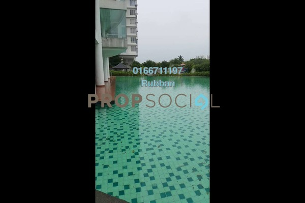Condominium For Sale in Zen Residence, Puchong Freehold Semi Furnished 3R/2B 535k