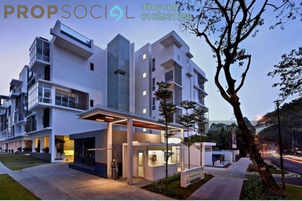 Condominium For Rent in Nobleton Crest, Ampang Hilir Freehold Semi Furnished 4R/4B 18k
