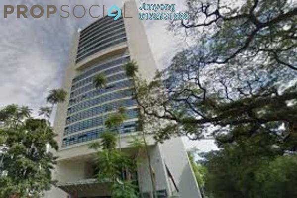 Office For Sale in Plaza 138, KLCC Freehold Semi Furnished 2R/1B 2.2m