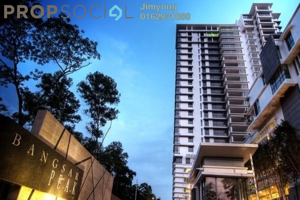 Condominium For Sale in Bangsar Peak, Bangsar Freehold Semi Furnished 4R/4B 2.95m