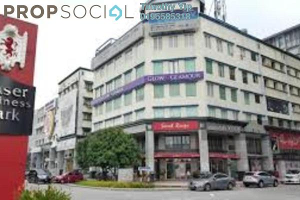 Shop For Sale in Fraser Business Park, Sungai Besi Freehold Semi Furnished 1R/1B 7.5m